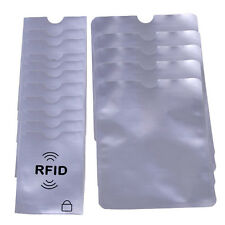RFID Blocking Credit Card Passport Protector Case Sleeve Shield Holder Secure