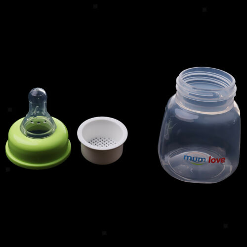 Baby Care Milk Fruit Juice Water Feeding Standard Mouth Silicone Drink Bottle