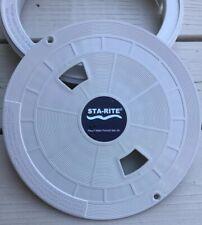"""Pentair Sta-Rite U-3 Skimmer Lid 9-13//16/""""od White 08650-0058"""