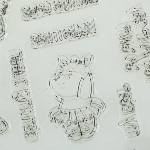 Dancing cow FSear Silicone Stamp//Seal for DIY Scrapbooking//photo Album Decor FS