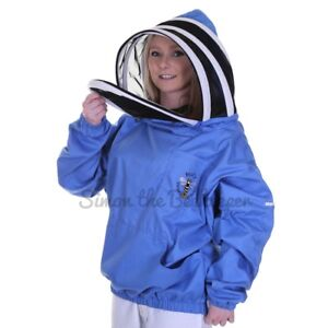 Beekeeping Blue Fencing Tunic - Vantage Tunic - Size: L