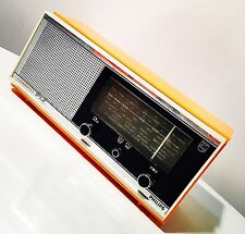 RADIO Vintage PHILIPS OM FM  CADETTO Mod. 19RB116 1967 Arancione