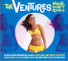 THE VENTURES - WALK DON'T RUN - 50 GUITAR INSTRUMENTS (NEW SEALED 2CD)