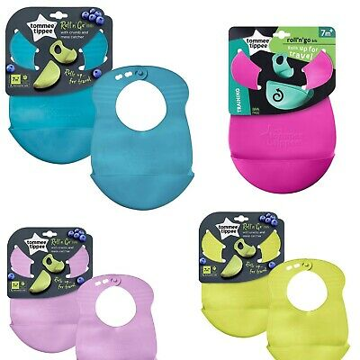 Tommee Tippee Explora Roll N Go Bib Some New Colours 7m