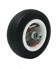 Tubless Flat Free 10 Tire Wheel For Hand Truck Tire Dolly With 58 Id Bearing