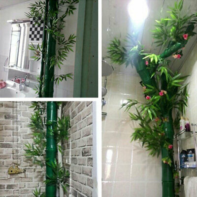 Diy Bamboo Plants Leaf Tree Branches Green Artifical Leaves