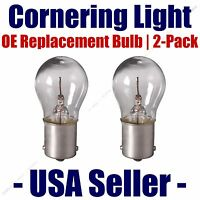 Cornering Light Bulb Oe Replacement 2pk - Fits Listed Buick Vehicles - 1156