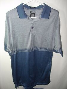 MENS-BLUE-NAVY-GOLF-POLO-ATHLETIC-100-COTTON-CASUAL-SPORT-SHIRT-SIZE-L-42