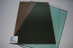 Esg Glas Bestellen ~ Esg glas float grün mm kanten gesäumt m² ebay