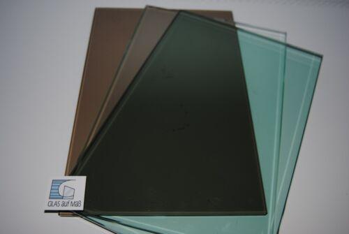 ab 1000 € Maßanfertg. ESG-Glas Float grün 8mm Kostenlose Lfrg
