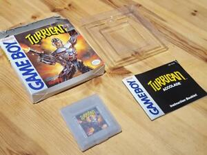 TURRICAN-Original-Gameboy-Game-USA-Boxed-with-Instructions-VGC-RARE