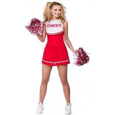 High School USA Cheerleader Sexy Fancy Dress Costume Wicked Medium 14-16 42-44