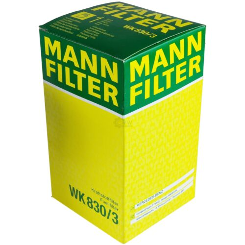 ORIGINALE Mann-Filter Filtro Combustibile WK 830//3 FUEL FILTER