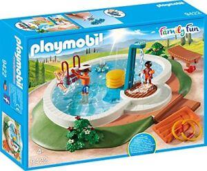 Playmobil-9422-Swimmingpool-Spiel