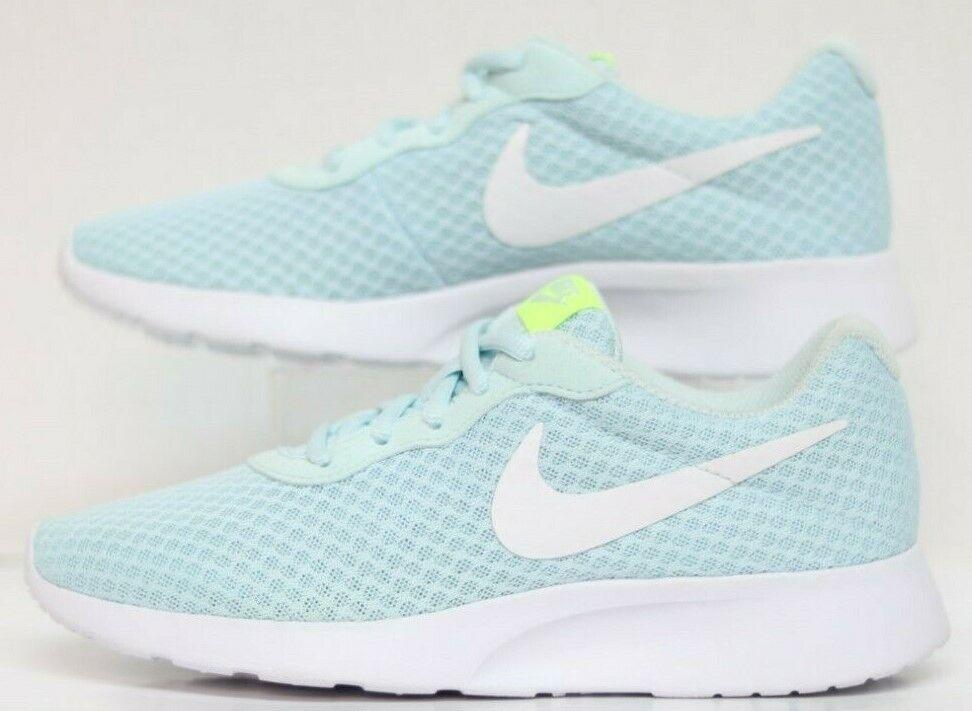Wmns Nike tanjun GLACIER bleu blanc-Volt 812655-401