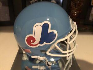 Montreal Expos Custom Mini Football Helmet (SCHUTT).
