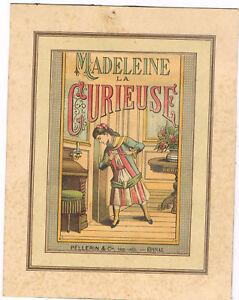 lot de 5 gravures    Madeleine la Curieuse  Pellerin & Cie- Epinal