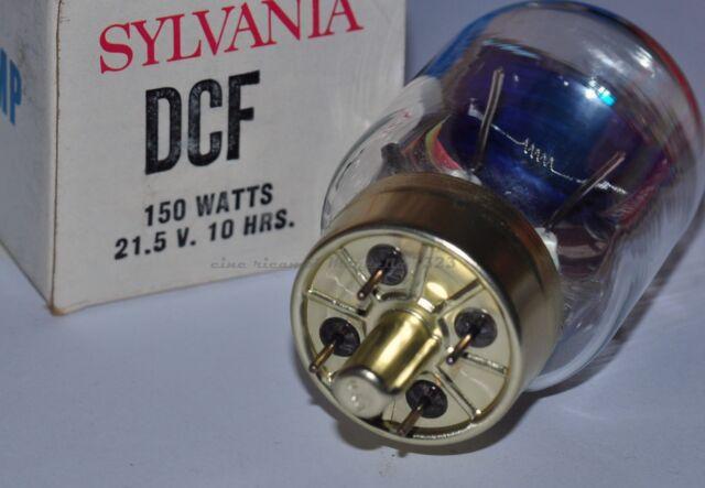 ★LAMPADA DCF 21,5 V 150 W G17Q PER PROIETTORE 8 mm (Argus,Elmo,Ricoh,Silma ) ★