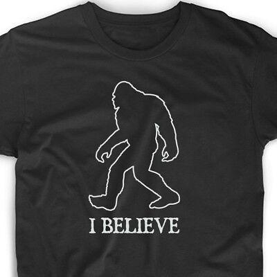 Believe T Shirt Sasquatch Bigfoot Animal Planet Big Foot Funny Tee T-Shirt