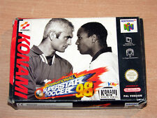 Nintendo 64 / N64 - International Superstar Soccer 98 by Konami