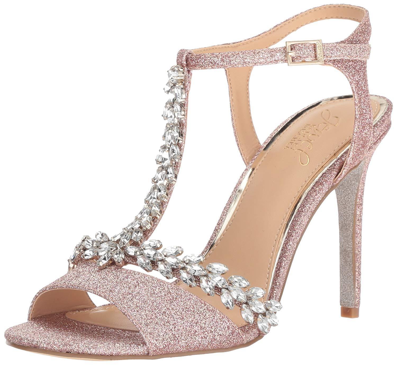 Jewel Badgley Mischka Mischka Mischka femmes Maxi Heeled Sandal- Pick SZ Couleur. 24df80