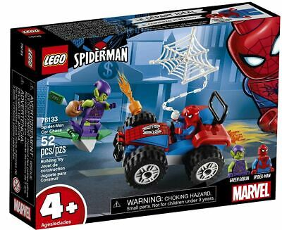 LEGO Marvel Spider-Man Spider-Man Car Chase 76133 Building Kit FAST SHIPPING