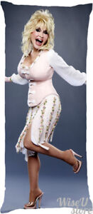 Dolly Parton Dakimakura Full Body Pillow Case Pillowcase Cover