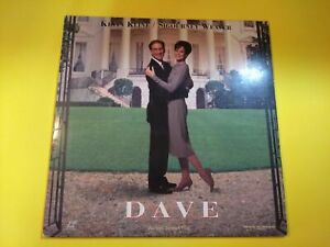 DAVE-Kevin-Kline-Sigourney-Weaver-Ben-Kingsley-1993-WB-PG-13-LASERDISC