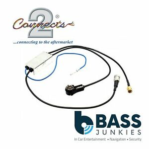 CT27AA142-JVC-Car-Stereo-Radio-DAB-ISO-to-SMA-Aerial-Antenna-Splitter