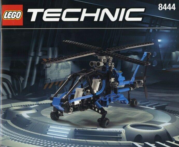 Lego Technic Model  8444 Air Enforcer New Sealed Helicopter