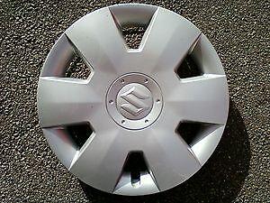 "Marca Nuevo Original Suzuki Swift 2005-2011 rueda Embellecedor Tapacubos 15/"" 43250-62J50-27N"