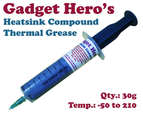 Gadget Hero #039;s Grey Thermal Grease Paste Heat Sink Compound for CPU  amp; Chipsets. available at Ebay for Rs.199