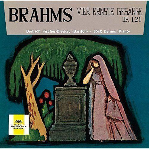 DIETRICH FISCHER-DIESKAU-BRAHMS: VIER ERNSTE GESANGE; LIEDER-JAPAN SHM-CD D20