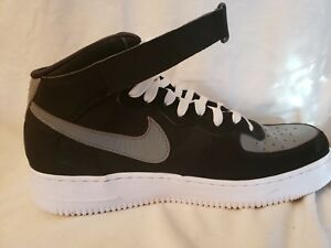 Details about Nike Air Force 1 Mid 07 Light Crimson Black Cool Grey 315123 025