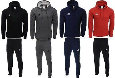Adidas Core18 Herren Trainingsanzug Jogginganzug Kapuzenjacke Fleece Baumwolle | eBay