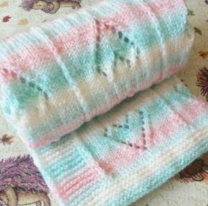Beginner Baby Blanket Knitting Patterns Easy Knitting Patterns 8
