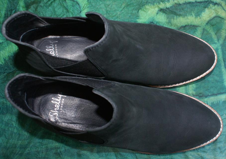 SHELLYS London London London Stiefel Stiefelette schwarz Echtleder Luxus Gr. 41  UK 7 wie NEU  | Modisch  7e0d2b