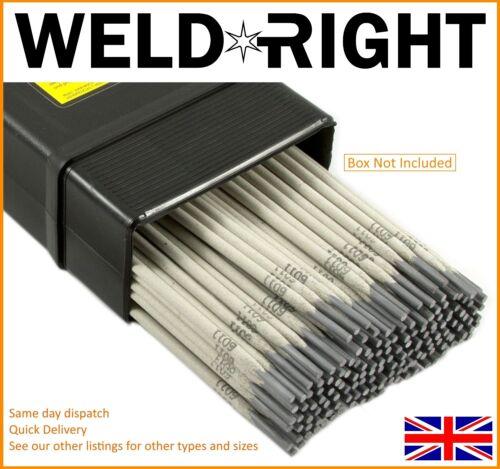 Weldright ER316L en acier inoxydable arc électrodes de soudure tiges 2.4mm x 30 tiges