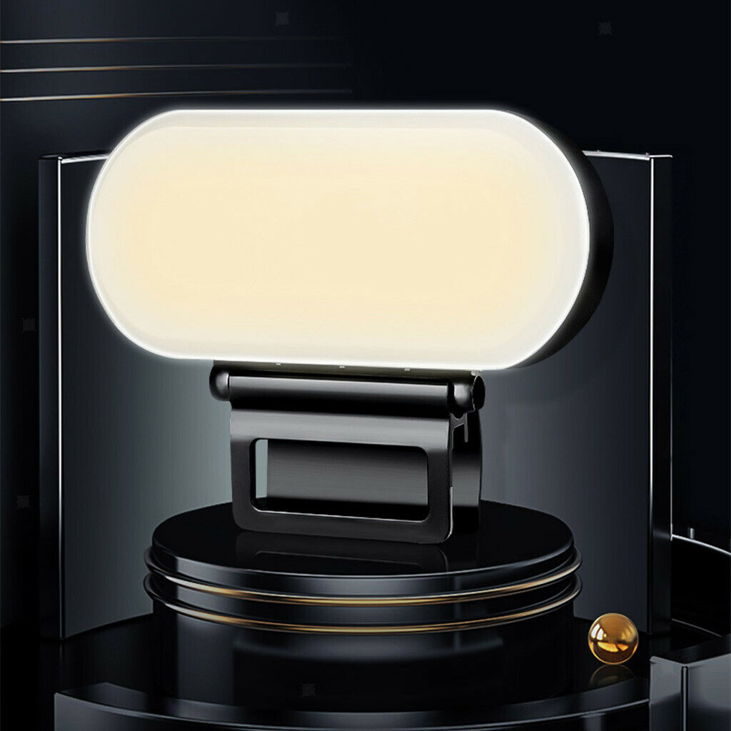 LED Video Fill Light with Clip Adjustable Photographic Filming Camera Lights