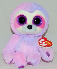 629c327c812 2019 Release Ty Beanie Boos Dreamy The Pink purple Sloth (6 Inch) in ...