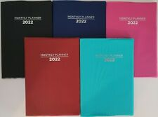 2022 Monthly Appointment Planner Calendar Day Timer 75x5 Select Color