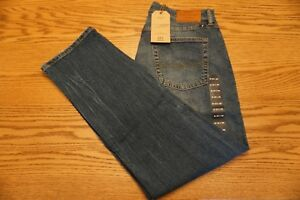 NWT-MEN-039-S-LUCKY-BRAND-JEANS-221-Multiple-Sizes-Straight-Distressed-Del-Mar-Point