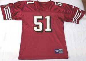 521b9b2f7c2 Ken Norton Jr. San Francisco 49ers NFL Reebok jersey youth sz L SF ...