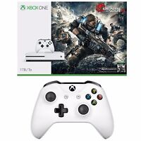 Microsoft Xbox One S 1TB Gears of War 4 Console + Wireless Controller