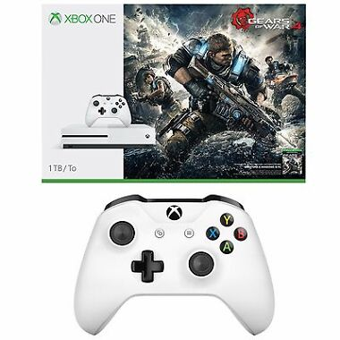 Microsoft Xbox One S 1TB Gears of War 4 Console