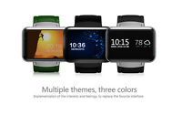 Dm98 Bluetooth Smart Watch Wifi Gps Gsm 3g Camera Phone Mate Heart Rate Monitors
