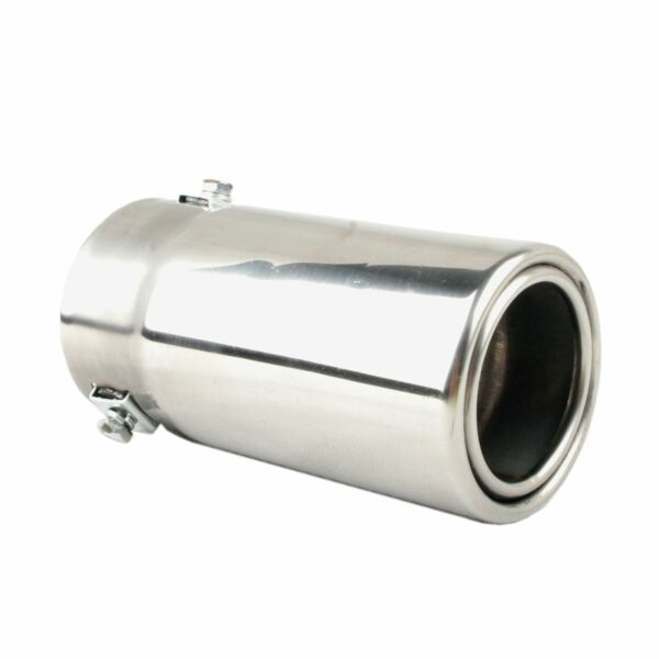 To Fit 2.5 to 3 Inch Exhaust tail Pipe Diameter Stainless Steel to give chrome effect Exhaust tip Car Muffler tips