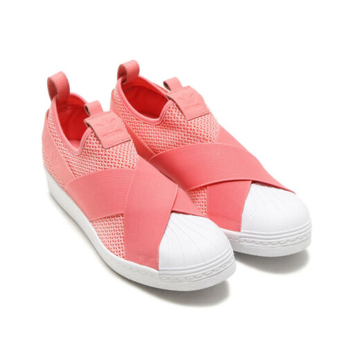 de femmes Adidas taille 5 4 By2950 formateurs Superstar Chaussures On Uk Slip Originals waxaSq0X