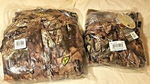 ScentBlocker-Outfitter Grande Veste & Medium Pantalon Combo-M-Oak Pays Camouflage-utfitter large Jacket & Medium Pants Combo- M-Oak Country camoafficher le titre d`origine IZ4jf7dm-07165645-29892873
