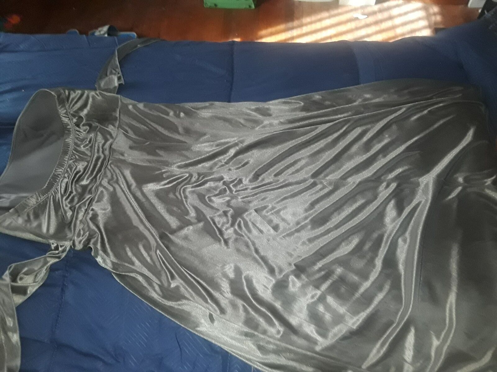silver ball gown - image 4